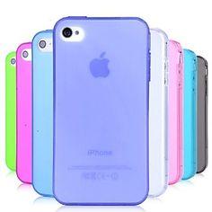 vormor®+tpu+polvere+custodia+morbida+prova+per+iphone+4+/+4s+(colori+assortiti)+–+EUR+€+1.89