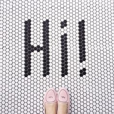 Hi! Hello! Hola! // #IHaveThisThingWithFloors #FromWhereIStand // Loly In The Sky Instagram Accounts, Instagram Posts, From Where I Stand, Happy Saturday, Ivory, Happiness, Sky, My Love, Pattern
