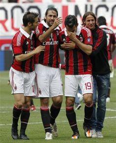 AC Milan, say goodbye Nesta, Gattuso, Inzaghi, Bommel, Seedorf