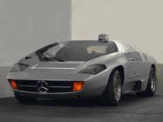 Mercedes-Benz Schulz Studie CW311 (1979) – Eberhard Schulz build this stunning car made of Porsche and Mercedes parts as the seventies vision of a new 300SL. They where later sold as Isdera Imperators.