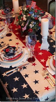 48 best patriotic table decorations images in 2019 american party rh pinterest com