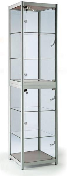 This Display Cabinet Blends Affordability, Design And Quality And Is A Part  Of Our FG Range Of Folding Display Cases. Our Folding Aluminium And Glass  ...