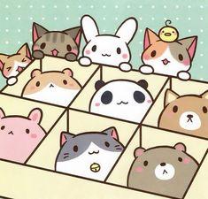 17 Hinh ảnh đẹp Nhất Về Chibi Animal Cute Drawings Kawaii