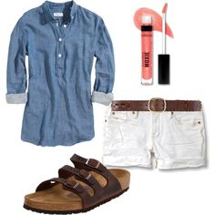 """Denim - Summer Casual"" by melon-ade on Polyvore"