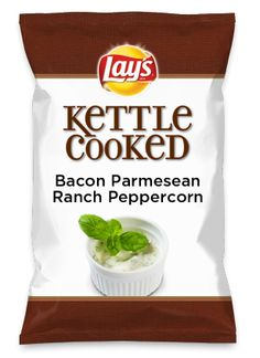 Wouldn't Bacon Parmesean Ranch Peppercorn be yummy as a chip? Lay's Do Us A Flavor is back, and the search is on for the yummiest flavor idea. Create a flavor, choose a chip and you could win $1 million! https://www.dousaflavor.com See Rules.