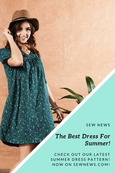 What to wear on date night? Try a sweet dress that's perfect for the summer time. Download the pattern to get started!