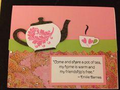 Handmade card by me!  Mft dies and  stamps