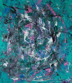 """Nigar Aliyeva - Alma Arts Agency """"The Trap of Desire"""", 2015. Acrylic on canvas 70x80cm"""