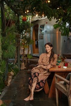 Bohemian Living: The airstream home of Musician Milcee Surely It couldn't get much better than this? An airstr...
