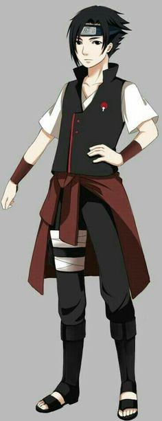 Uchiha OC  Sakura and Sasuke son. Daisuke Uchiha