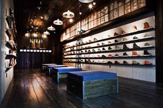 Kith shoe store by Cleanroom, Brooklyn store design eco <<< sustainable design + urban