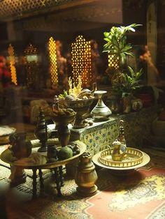 morrocan room in miniature
