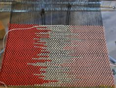 claspedweft - w 3 colors - blog post has link to Peter Collingwood's book Rug Weaving Beyond the Basics which has other techniques too.