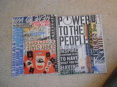 Journalism School College Ruled Notebook/Journal by spritz801