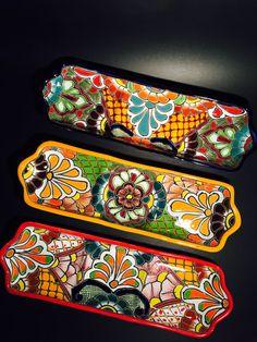 Talavera Appetizer Set by souvenirsandmore on Etsy