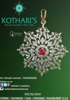 Pendant Set, Diamond Pendant, Diamond Jewelry, Diamond Earrings, Pendant Necklace, Gold Necklace, Indian Jewellery Design, Indian Jewelry, Jewelry Design