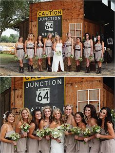 country bridesmaid looks Our wedding :) by Kimberly Carlson Photography
