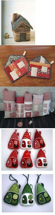 Текстильные домики