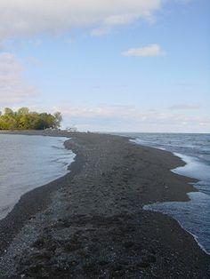 Point on Pelee Island, ON, Canada