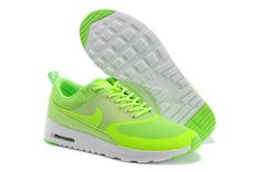 8dd5551e8 Flash Lime Flash Lime White Nike Air Max Thea Women s Shoes Discount Nike  Shoes