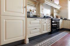 Klassieke keuken schouw