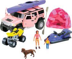 Complete her Easter basket with Cabela's Girls' Hummer SUV Camping Set