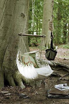 My kind of tree swing.