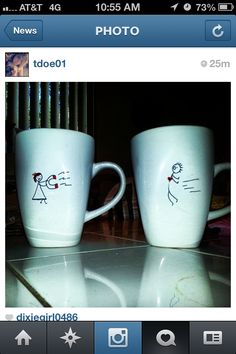 Sharpie mugs :)