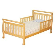 AFG Baby Furniture Athena Anna Toddler Bed in Natural, Nursery Furniture Collections, Nursery Furniture Sets, Baby Furniture, Furniture Outlet, Furniture Near Me, Furniture Plans, Kids Bed Frames, Furniture Gliders, Bed Frame And Headboard