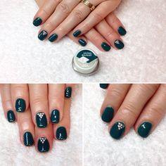 #nails #naildesigns #biosculpture #biosculpturegel #accentnail #nailart