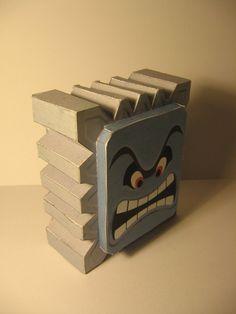 Past - Thwomp Papercraft (http://Chartodileon.deviantart.com 2007)