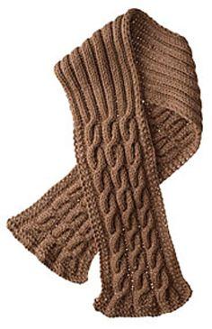 """Seaman's Scarf"" Knitted Unisex Adult Scarf Pattern by Knit Picks - FREE Knitting Pattern Knitting Stitches, Knitting Patterns Free, Knit Patterns, Free Knitting, Free Pattern, Mens Scarf Knitting Pattern, Knit Or Crochet, Crochet Scarves, Knitting Scarves"
