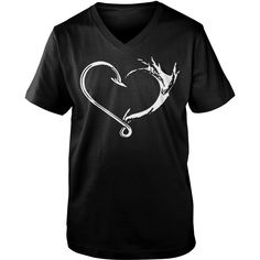#FISHING HEART SHIRT SHIRT TSHIRT HOODIE, Order HERE ==> https://www.sunfrog.com/Hobby/130555382-859467998.html?49095, Please tag & share with your friends who would love it, #birthdaygifts #jeepsafari #renegadelife  #fishing girls, fishing women, fishing recipes  #family #animals #goat #sheep #dogs #cats #elephant #turtle #pets