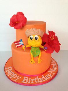 Coqui cake project on Craftsy.com
