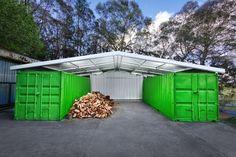 Resultado de imagem para shipping container farm