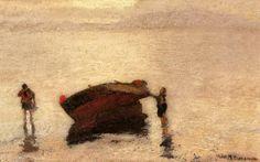 .:. Οικονόμου Μιχαήλ – Michail Oikonomou [1888-1933] Στη βάρκα