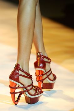 Hokies heels!...not that i'd ever wear these but still cool