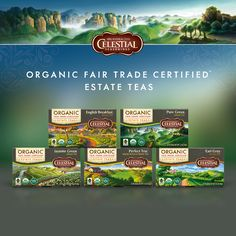 Celestial Seasonings Introduces New Line of Organic, Fair Trade Certified Teas
