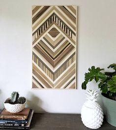 Wood Wall Art Wood Art Geometric Wall Art Wood Wall Decor