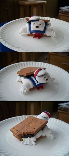 The edible Stay Puft Smore.