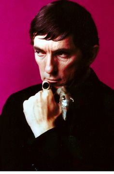 The late Jonathan Frid as Barnabas Collins on Dark Shadows