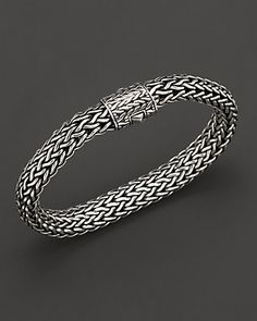 Gold Chain For Men John Hardy Men's Silver Large Chain Bracelet - John Hardy, Mode Rock, Gold Chains For Men, Silver Man, Sterling Silver Bracelets, Silver Earrings, Onyx Necklace, Bracelets For Men, Leather Bracelets