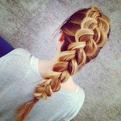 ✂ #braids #hair #hairstylist #hairstyle #hairfashion #blondehair #hairinspiration #longhair #haircut #frenchbraid #fashion #hairdo #warkocze #warkoczyki #warkoczfrancuski #długiewłosy #wedding #weddinghair #weddinghairstyle #fryzuraślubna