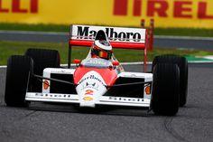 ストフェル・バンドーン、マクラーレン MP4/5でデモ走行  [F1 / Formula 1]
