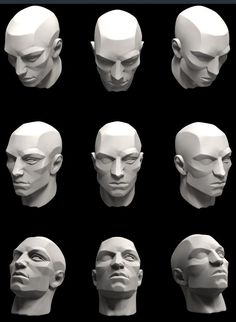 head planes Facial Anatomy, Head Anatomy, Body Anatomy, Anatomy Drawing, Anatomy Art, Anatomy Of The Face, Anatomy For Artists, Tutorial Zbrush, Drawing Heads