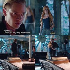 """Clary is the only thing that matters."""