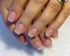 40 Classy Acrylic Nails That Look Like Natural If you want your acrylic look like Natural Nails, Just put simple nude color or clear gels on your nails. French tips are also nice for natural nails design. Natural Looking Acrylic Nails, Classy Acrylic Nails, Classy Nails, Chic Nails, Simple Nails, Love Nails, Fun Nails, Pretty Nails, French Nails