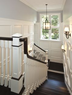 Stair Railing Painted Design, Pictures, Remodel, Decor and Ideas - page 40