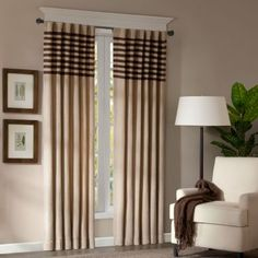 Dune Rod-Pocket/Back-Tab Curtain Panel Pair  found at @JCPenney