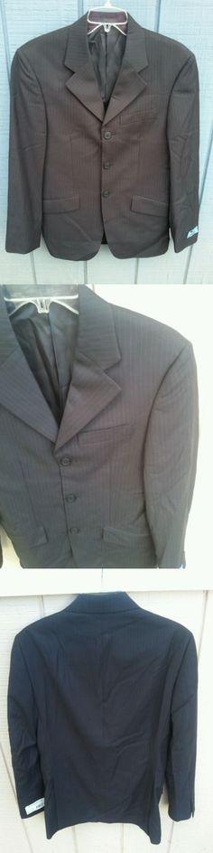 English Show Coats 183362: Nwt Rj Classics National Style Black Stripe Show Jacket Hunt Coat Mens Sizes BUY IT NOW ONLY: $89.99